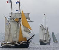 Tall Ships Festival in Brest, Brittany France