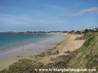 Cancale beaches in Brittany