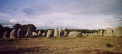 Carnac's megaliths, Brittany France