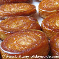 Kouign-aman speciality cakes from Brittany France