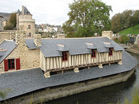 The Lavoir in Vannes, Brittany France