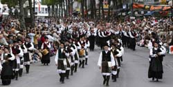 The Interceltic Festival in Lorient, Brittany France