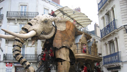Royal de Luxe Elephant in Nantes Brittany