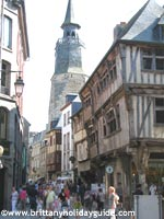 Medieval Town of Dinan in Brittnay France